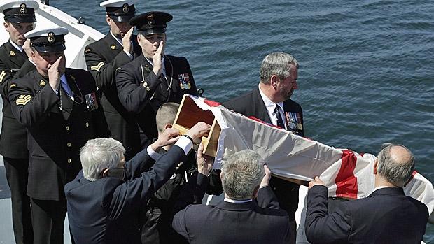 canadian burial at sea