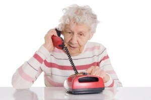 seniors and voice mail